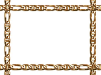 Golden chain frame