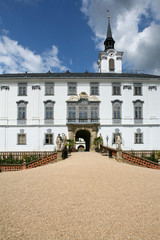 Chateau in Lysice, Czech republic