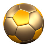 GOLD SOCCER BALL 4