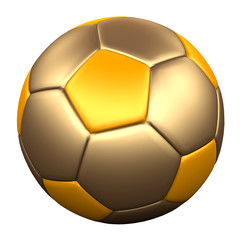 GOLD SOCCER BALL 4