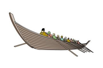 barca anglosassone