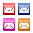 newsletter button kollektion farbig