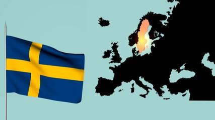 Bandiera della Svezia