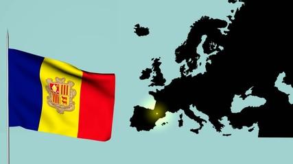 Andorra Bandiera europea