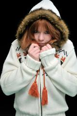 frozen redheaded girl