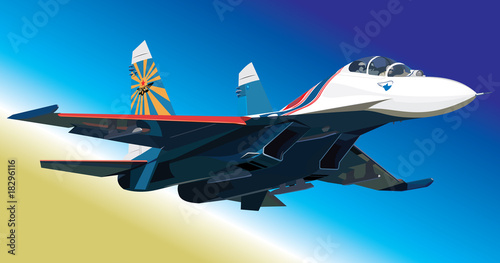 Poster Militair Flanker