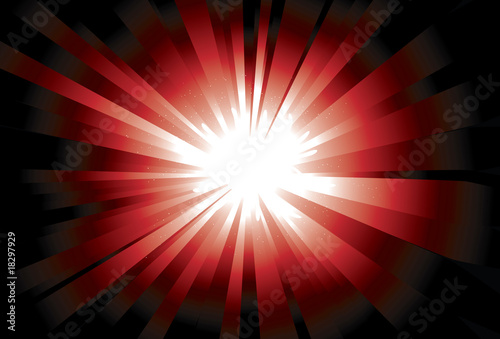 Bright Shinning Red Background