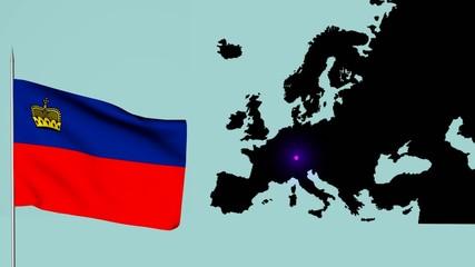 Lichtensten bandiera Europea