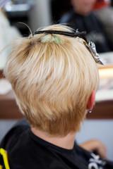 haare blondieren