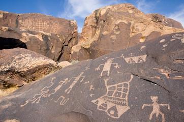 Petroglyphs of Anasazi Canyon