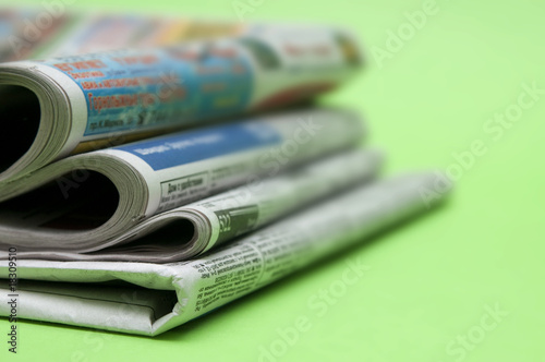 Pack of newspapers