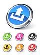 icône upload, envoyer