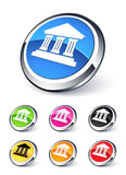 icône bourse / économie poster
