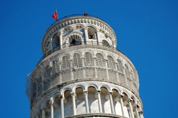 Pisa tower detail