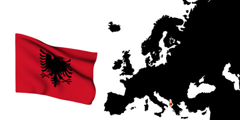 Bandiera Albanese