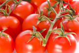 zralá červená rajčata
