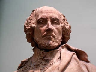 William Shakespeare sculpture