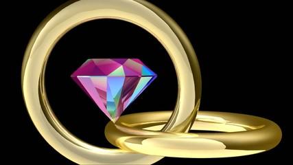 Diamant et reflets -2