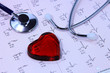 coeur et stethoscope