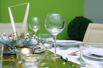 Celebration table setting