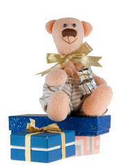 Bear and presents