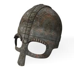 old helmet