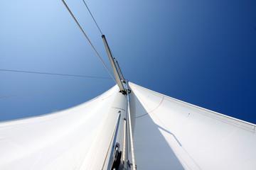Mast from below