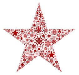 X-Mas Star Red
