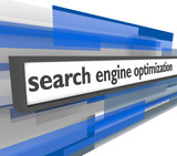 Search Engine Optimization Bar poster