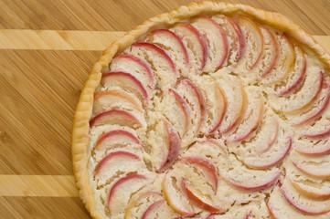 Apple pie prepared for a dessert