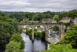 Viaduct in Knaresborough, North Yorkshire, England poster