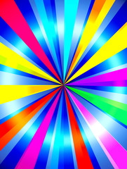Bright Multicolored Background