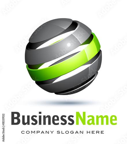 Business logo de...Q Logo 3d