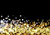 ゴールドのイルミネーション - 18341178