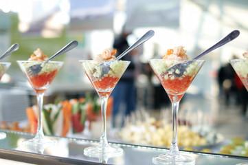 Shrimp cocktails
