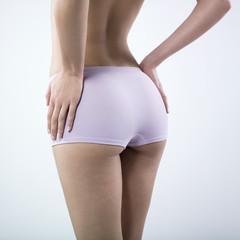corps de femme en sous-vêtements