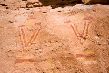 Pictographs of Snake Gulch