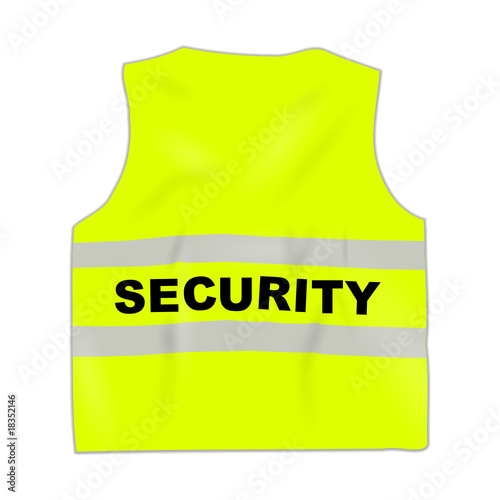 Security Safety Vests Security Safety-vest Yellow