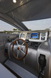 ITALY, Lazio, Tirrenian sea, uxury yacht , driving consolle