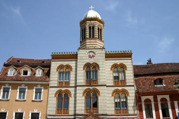 Historische Fassade in Brasov