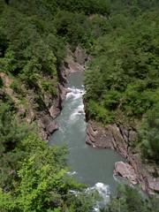 Belaya river canyon. Caucasus