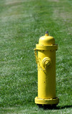 Prevention: yellow fire hydrant poster