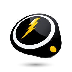 blitz energie strom zeichen symbol