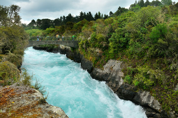 _Huka Falls, Taupo, New Zealand