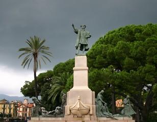 Statua di Cristoforo Colombo a Rapallo