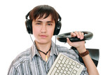 Teenage gamers poster