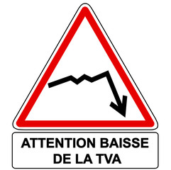 attention baisse de la tva