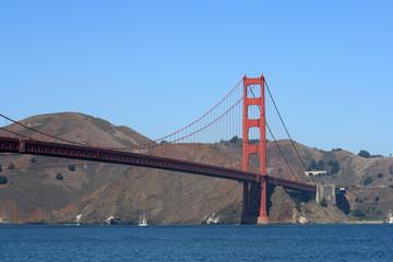 The Golden Gate Bridge in San Francisco California