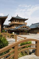 Mulong Lake Buildings, Guilin, China