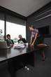 Seductive business woman